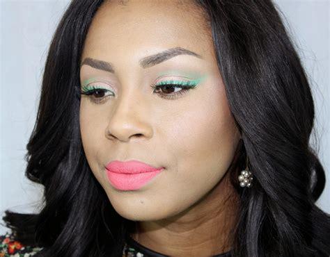 beautys pavilion bright eyeliner  bright lips makeup