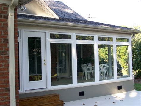 Enclosed Porch Windows by Raleigh Replacement Windows Durham Vinyl Window