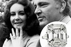 wow elizabeth taylors engagement wedding ring With liz taylor wedding ring