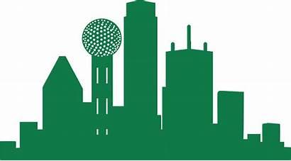 Dallas Skyline Clipart Transparent North America Exo