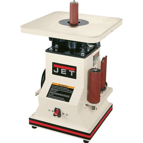 jet benchtop oscillating spindle sander  hp model