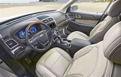 2019 Ford Interior by 2019 Ford Explorer Specs And Performance Just Car Review