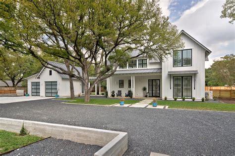 modern farmhouse updated modern white farmhouse tim brown architecture hgtv