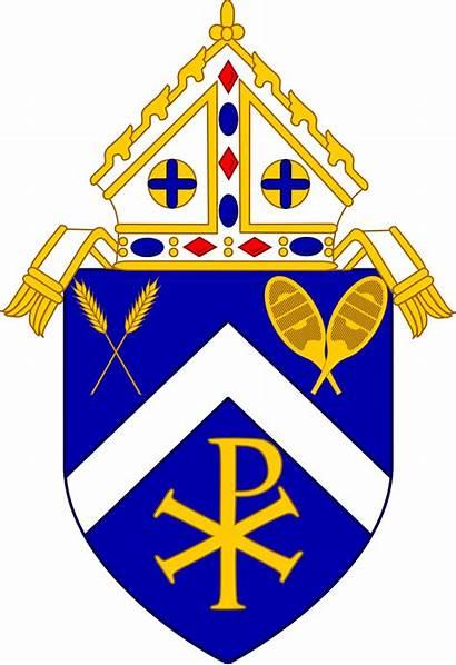 Catholic Roman Archdiocese Edmonton Arms Coat Diocese