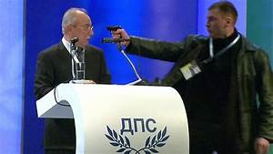 Gas pistol pointed at ethnic Turkish party leader Ahmed ...