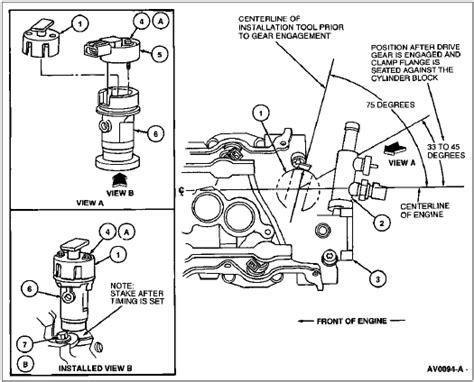 replacing cmp in 96 vulcan taurus car club of america ford taurus forum