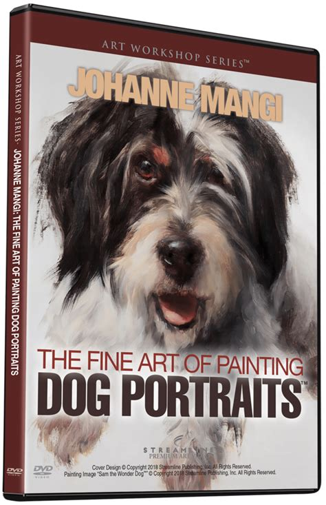 Johanne Mangi The Fine Art Of Painting Dog Portraits