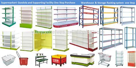 Hot Sale Supermarket Racks Display Shelving Metal Grocery