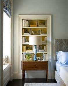 Built in Recessed Bookshelf