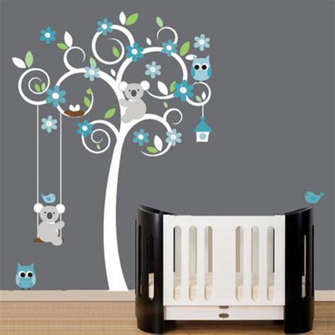 deco murale chambre bebe garcon décoration chambre d enfant grise
