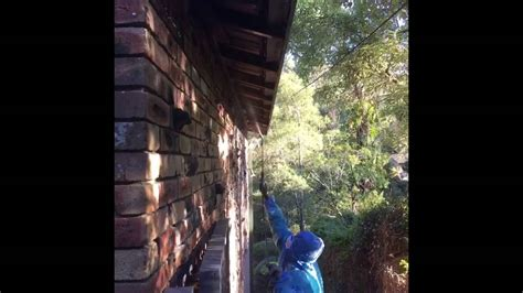 asbestos eaves removal youtube