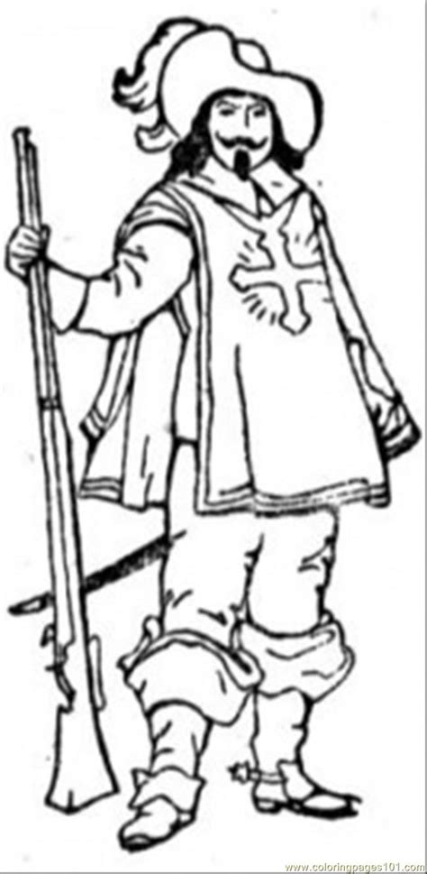 musketeer coloring page  france coloring pages coloringpagescom