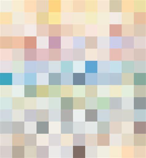 Vinyl Matt Mixed Pastel Colours