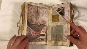 Altered Book Junk Journal - Wallflower  Sold