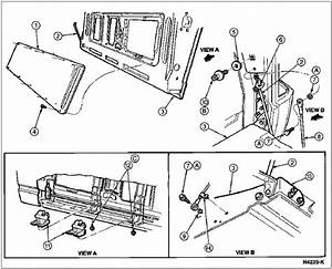 Chevy S10 Tailgate Diagram