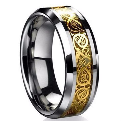 fine jewelry stainless steel dragon ring mens jewelry
