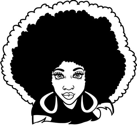 Download 3,972 afro hair free vectors. Afro Hair Quotes. QuotesGram | Afro art, Afro hair drawing ...