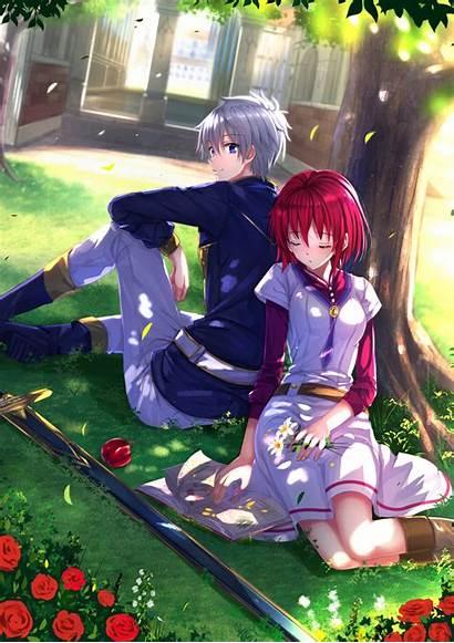Akagami Hime Shirayuki 10p Anime Adf Ly