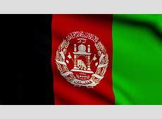Afghanistan Looping Flag Waving In The Wind Stock Footage