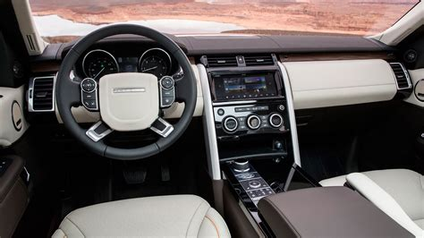 land rover interior 2017 land rover discovery 2017 review by car magazine