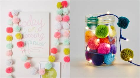 ideas  decorar  pompones