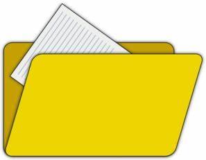 12 Cartoon Folder Icon Images Blue File Folder Clip Art