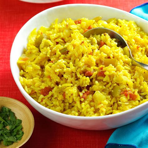 texas style rice recipe taste of home