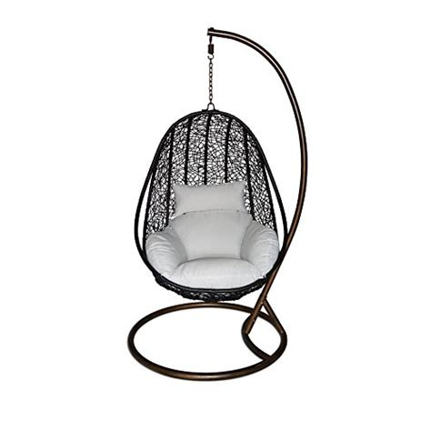 ucharge outdoor swing chair hanging hammock with cushion