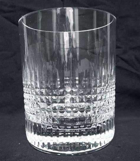verre 224 whisky en cristal de baccarat mod 232 le nancy sign 233