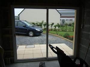 comment poser une baie vitree a la place d39une porte de With baie vitrée pour porte de garage