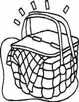 Picnic Basket Coloring Blanket Brand Drawing Pages Clipartmag Sheets Vegetable Printable Netart Getdrawings Getcolorings sketch template