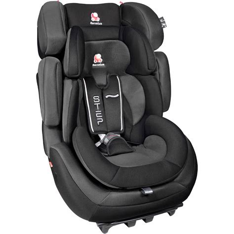 siege auto groupe 123 isofix inclinable siège auto total black groupe 1 2 3 de renolux sur