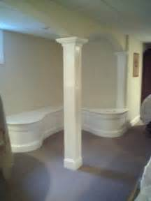 Basement Beam Covers by Finishing Basement Support Columns Pics Would Be Great