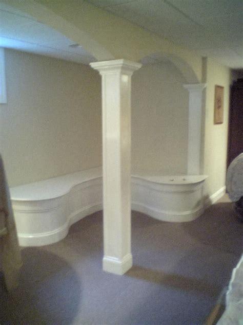 basement wrap basement support post cover smalltowndjs com
