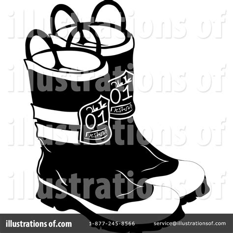 fireman boots clipart black and white boots clipart 73944 illustration by pams clipart