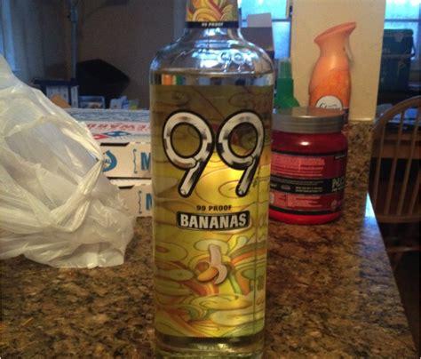 Booze Review 99 Bananas