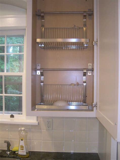 bottom   standard wall cabinet cut   installed  ikea drying racks