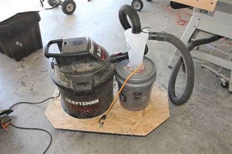 dust collector  shop vac  brandonr  lumberjocks
