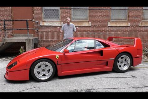 How Much Is A F40 Worth by Here S What It Was Like To Drive A F40 On The