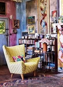 51 inspiring bohemian living room designs digsdigs With deco de terrasse exterieur 10 deco salon hippie chic