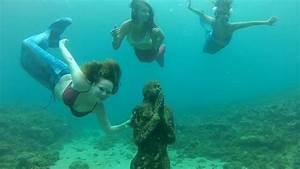 Mermaids At Grenada U0026 39 S Underwater Sculpture Park