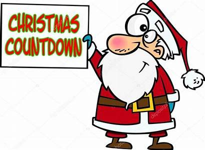 Countdown Christmas Cartoon Xmas Cartoons Illustration Down