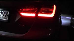 Ford Mondeo Rear Lights Ford Focus 3 New Led Rear Lamps For Sedan Youtube