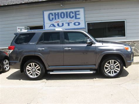 2013 toyota 4runner limited stock 160225 carroll ia 51401