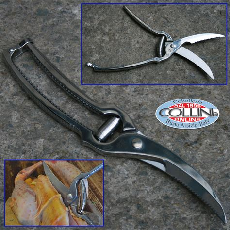 Made In Italy  Stainless Steel Poultry Shears Kitchen