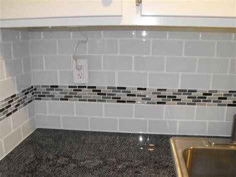 Easy Subway Tile Backsplash : Astounding Glass Subway Tile Backsplash Picture And