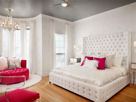 Bedrooms With Upholstered Headboards, Rich Teen Girls