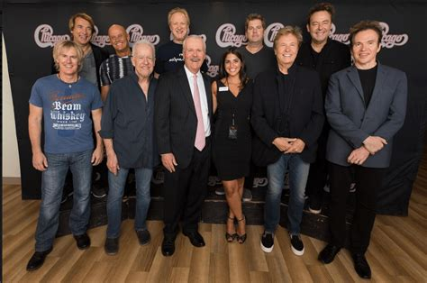 Legendary Band Chicago Plays At Palace Theatre Gala