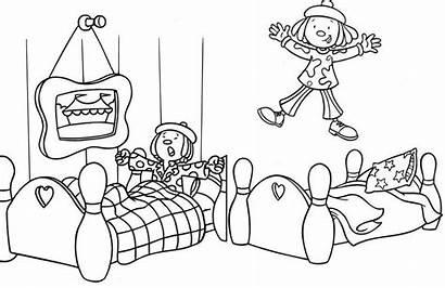 Coloring Circus Jojo Bedroom Sheet Children Preschool