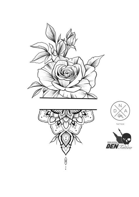 55 Simple Little Flowers Tattoos Drawing Tattoos Ideas For Women This Season Thes #flower